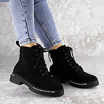 Ботинки женские Fashion Char 2191 38 размер 24,5 см Черный, фото 3