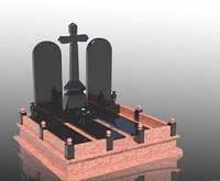 Двойные памятники (Образцы №387)