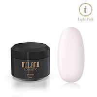 Гель для наращивая Milano Light Pink, 30мл