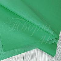 Тишью папиросная бумага зеленое яблоко 50 х 70см