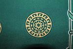 """0978250588. Павлопосадский платок шелковый """"Экзотический цветок"""" рис. 1031-9  размер 52х52 см, фото 3"""