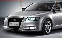 Штатные дневные ходовые огни (DRL) для Audi A6 2009-20011 T1