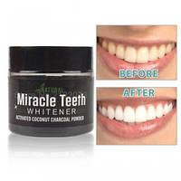 Отбеливающая зубная натуральная паста Miracle Teeth Whitener