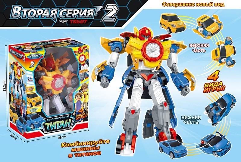 """Трансформер робот """"TITAN"""" 505 РАЗМЕР 28,5х337х16см, в коробке /18/"""