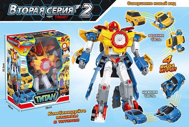 """Трансформер робот """"TITAN"""" 505 РАЗМЕР 28,5х337х16см, в коробке /18/, фото 2"""