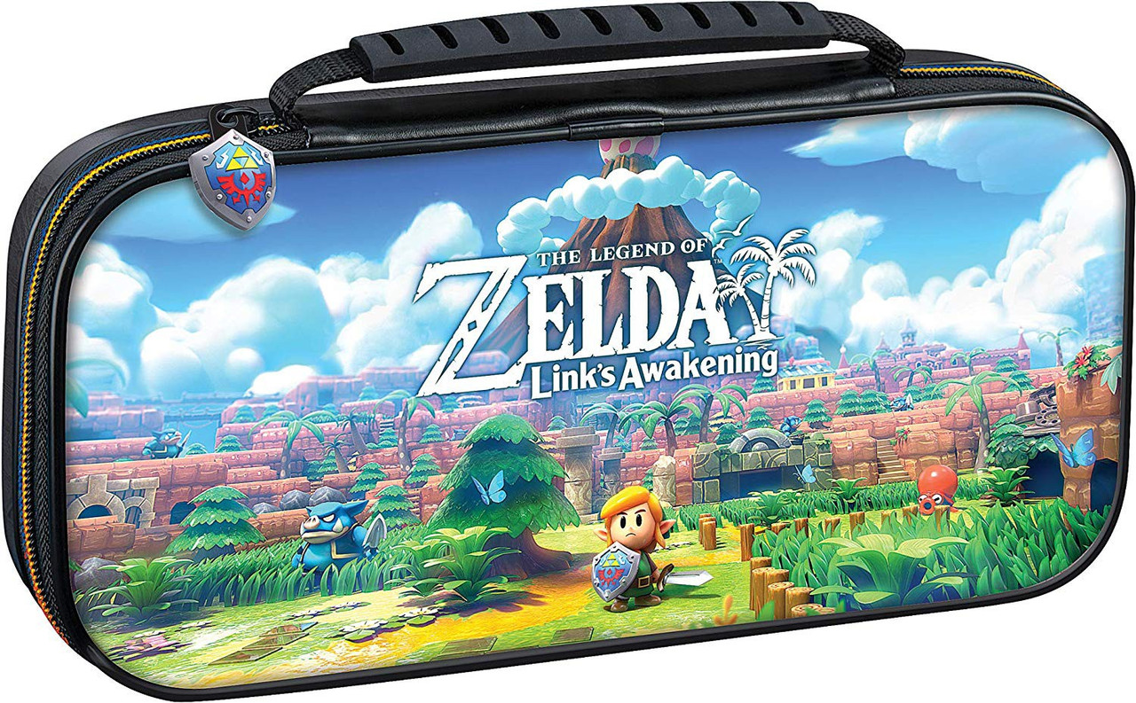 Чохол для Nintendo Switch Lite The Legend of Zelda Links Awakening Travel Case (мягкий)