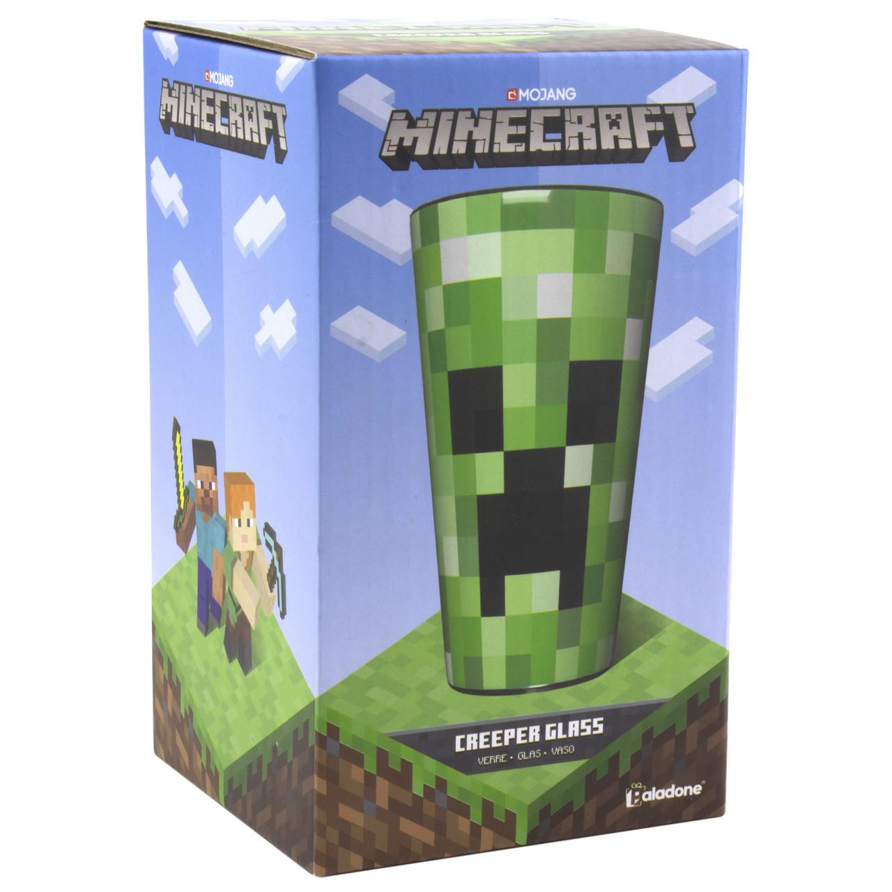 Стакан Minecraft Creeper Glass (Paladone)
