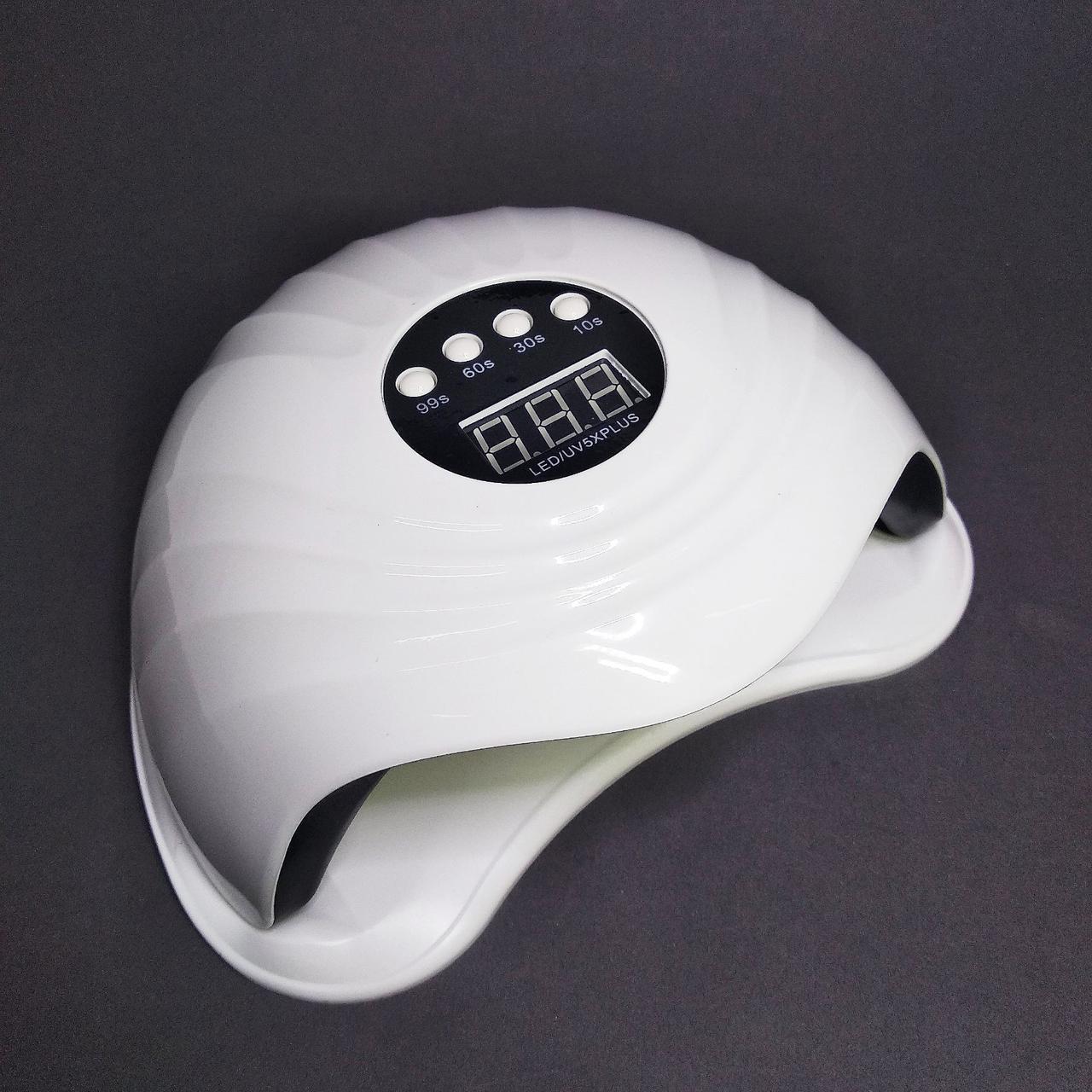 LED/UV лампа для нігтів Sun 5X Plus, 108вт