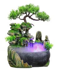 Настольный водопад. Декоративный водопад Фэн Шуй со светодиодной подсветкой, фото 2