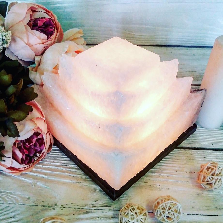 Соляна лампа SaltLamp Китайський будиночок 3-4 кг