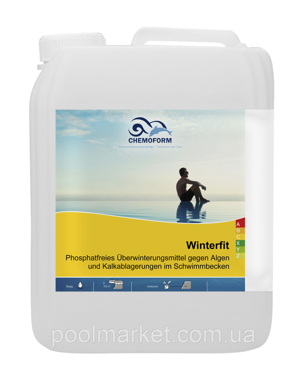 Winterline (жидкий) 5л. Средство для консервации бассейнов на зимний период.