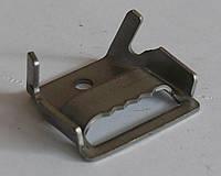 Скрепа СК для бандажной ленты (нержавейка), фото 1