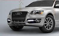 Штатные дневные ходовые огни (DRL) для Audi Q7 2008+