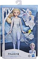 Кукла Эльза Холодное сердце 2 с огнями Disney Frozen Magical Discovery Elsa Doll with Lights and Sounds Hasbro