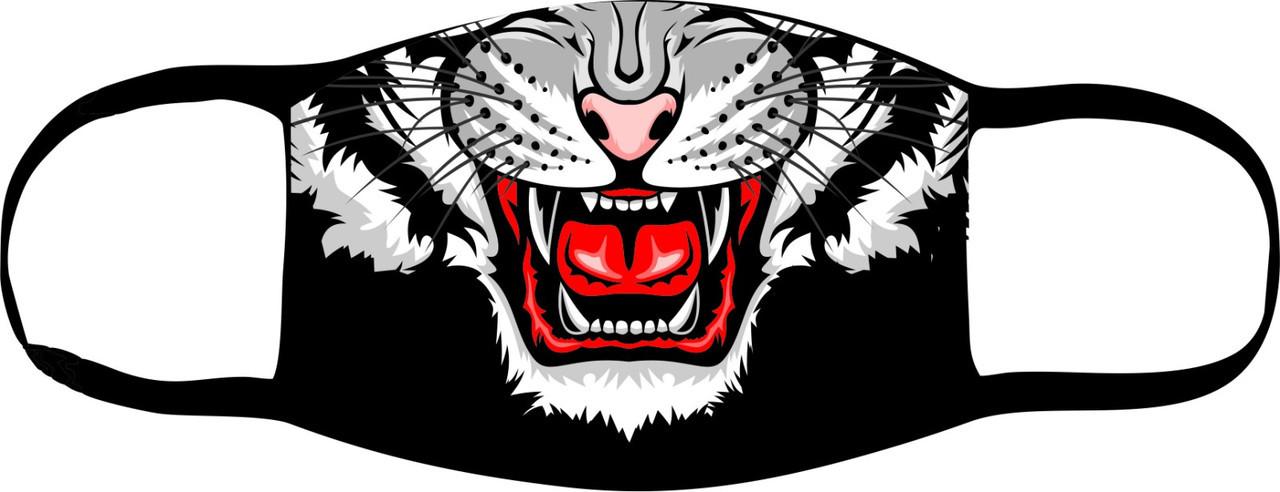 """Маска повязка на лицо многоразовая от пыли и грязи """"Тигр"""""""