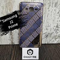 Чехол с рисунком для Sansung J2 Prime Ромбовый узор, фото 1