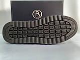 Осенние комфортные кожаные туфли на платформе Bertoni, фото 9