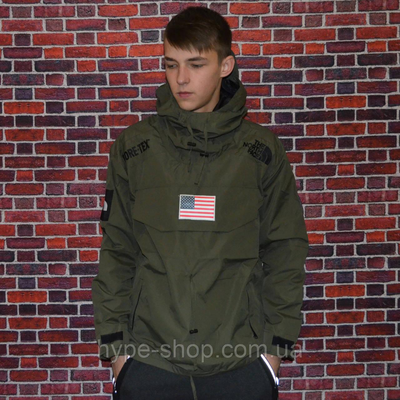 Куртка-Анорак Supreme x The North Face реплика