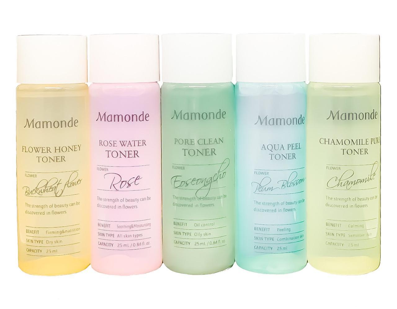 Набір тонерів Mamonde Flower Toner Trial kit