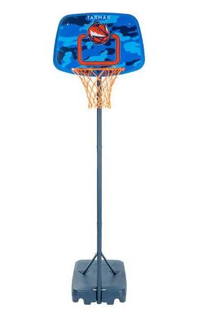 Стойка баскетбольная детская передвижная Tarmak K500 Aniball высота кольца 1,3-1,6 м (8574767)