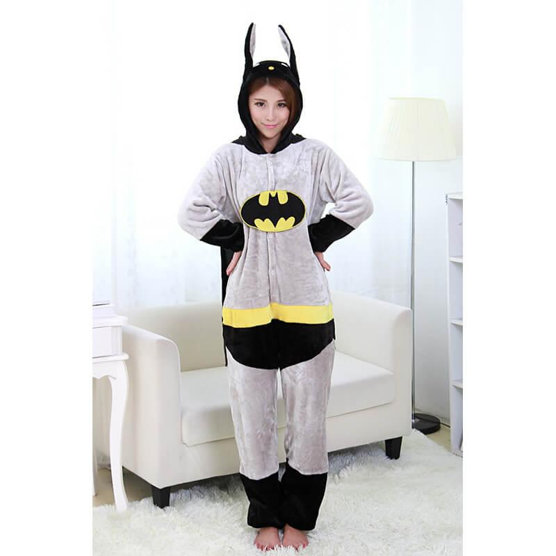 Піжама кигуруми Доросла Batman ( Бетмен ) м'яка і тепла