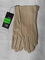 """Женские кожаные перчатки, на плюше  (р.р. 6,5 7 7,5 8 8,5) Румыния, от 5 шт. """"MK-655"""""""