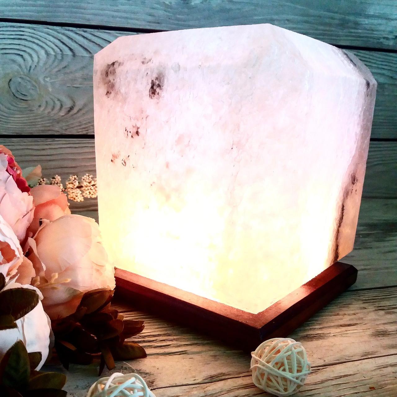 Соляна лампа SaltLamp Квадрат 10 кг