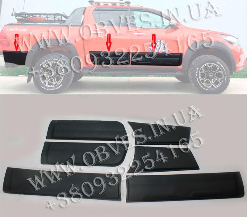 Листва Toyota Hilux 2015+