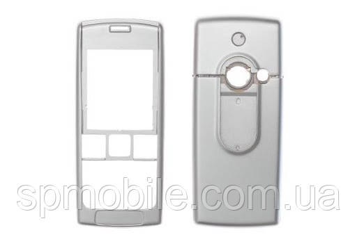 Корпус S.Ericsson T630i High Copy серебро