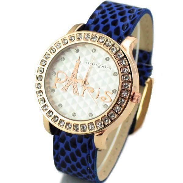 Часы женские Paris Castle blue