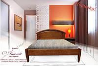Деревянная Двуспальная Кровать Амелия 1,6 х 2 м