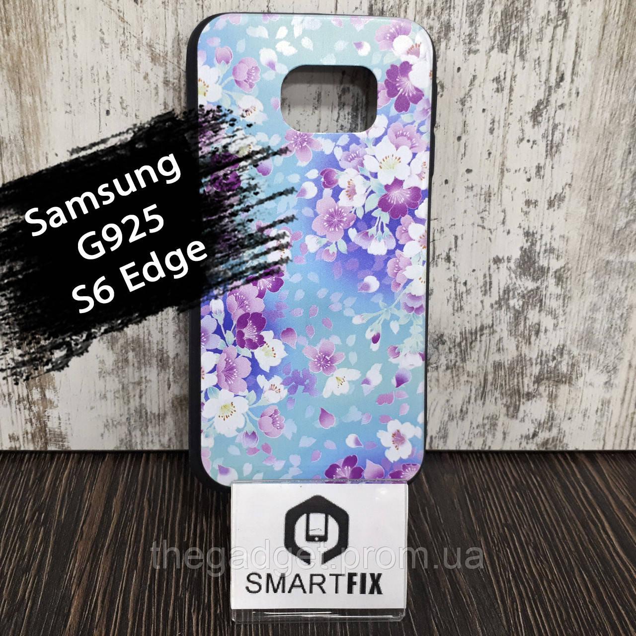 Чохол з малюнком для Samsung S6 Edge (G925)