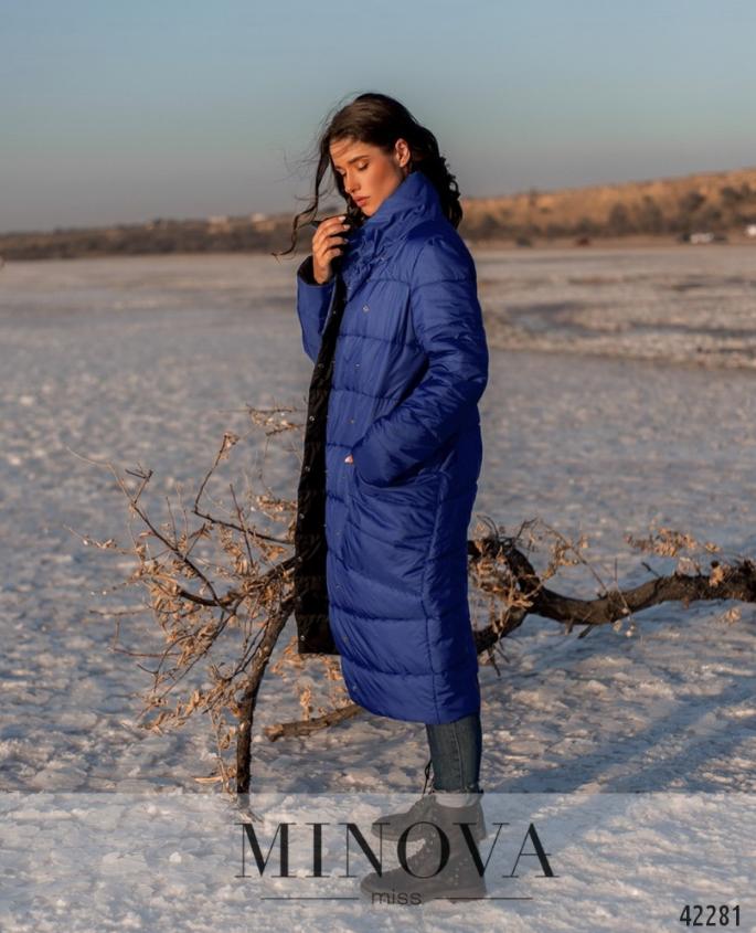 Удобная и тёплая двусторонняя куртка с подкладкой Украина Размеры: 44-46, 48-50