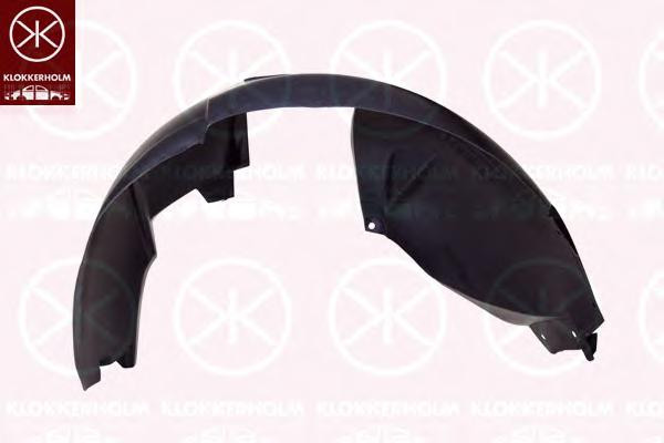 Подкрыльник передній правий 1.4-1.6 MPI/1.5 DCI Klokkerholm 1301388