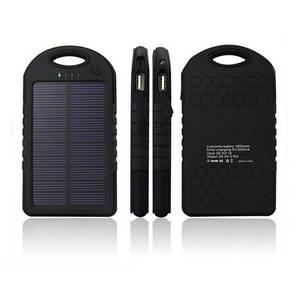 УМБ Power Bank на солнечной батарее 5000 mAh, фото 2