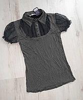 Шкільна блузка для дівчаток. 164 зростання.