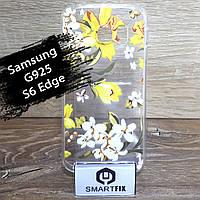 Чехол с рисунком для Samsung S6 Edge (G925), фото 1