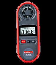 Анемометр цифровий 0,7-30м/с, -10-45°C WINTACT WT816A