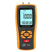 Микроманометр диференціального тиску USB, ±10 кПа BENETECH GM510