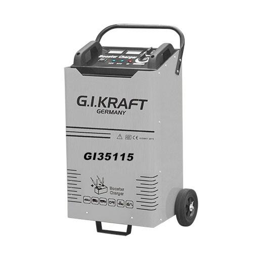 Пусковое зарядное устройство 12/24V, 3600A, 380V G.I.KRAFT GI35115