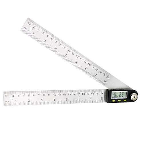 Складная линейка для измерения углов (угломер электронный) 200 мм PROTESTER 5422-200