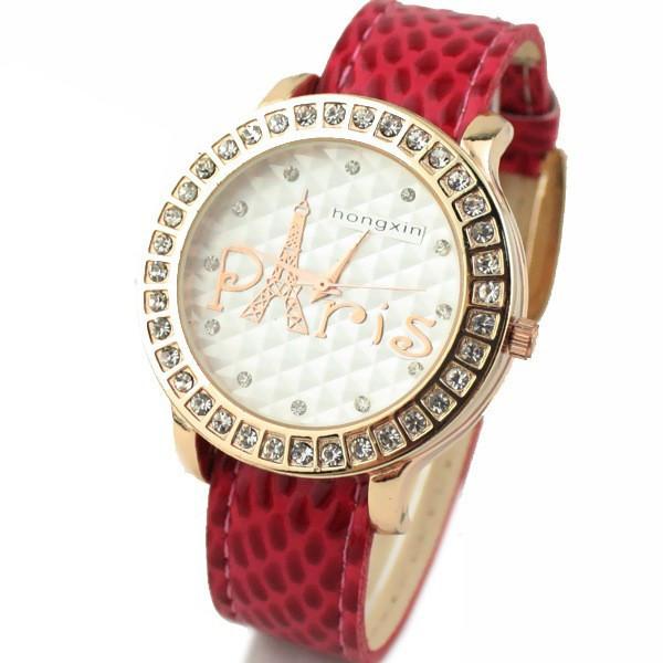 Часы женские Paris Castle red