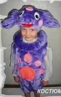 Карнавальный костюм Лунтик меховой 3-5 лет, фото 1