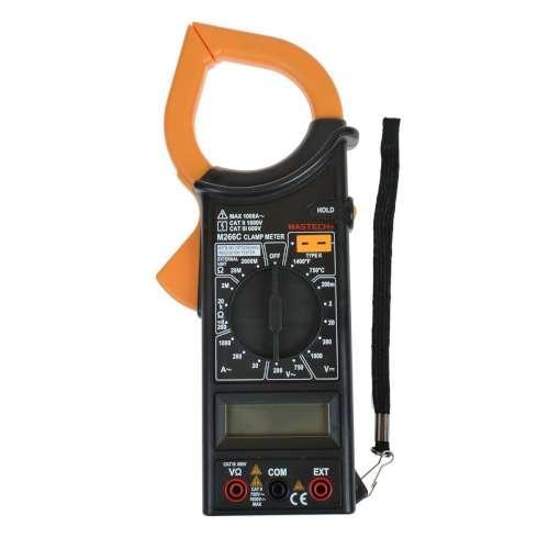 Цифровые токовые клещи с термопарой PROTESTER M266C