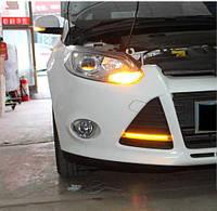 Штатные дневные ходовые огни (DRL) для Ford Focus 2011+ T7