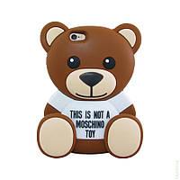 Силиконовый чехол Disney iPhone 6 Teddy Bear Brown