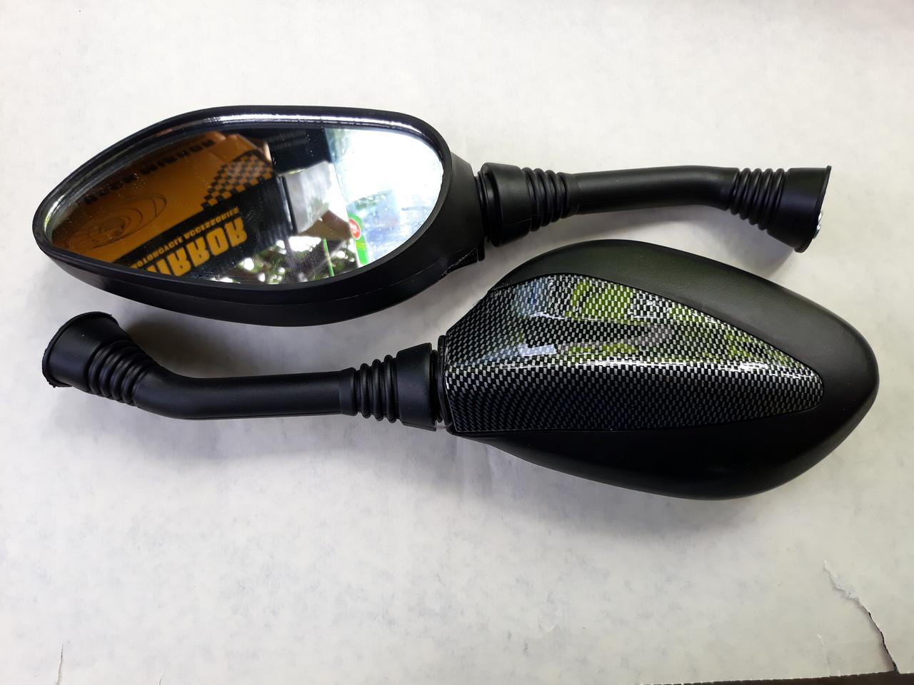 Дзеркала карбон для GY6 50cc