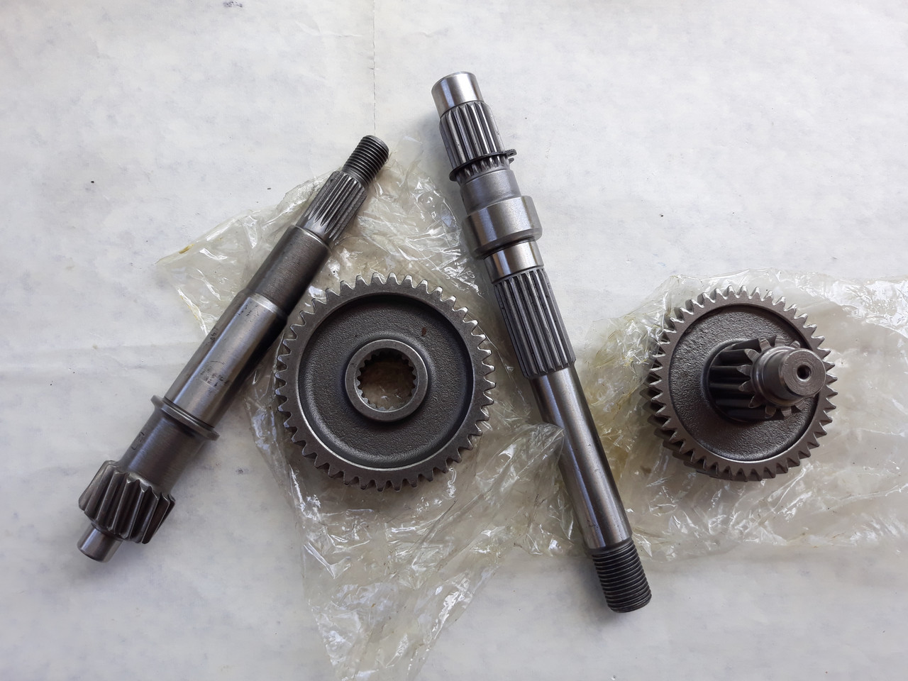 Редуктор под 2 амортизатор для GY6 125, 150cc