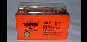 Аккумулятор 12V 7A 150х87х94 для GY6 100cc  гель