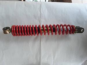 Амортизатор задний регулируемый 295 мм красный для  GY6  125,150cc